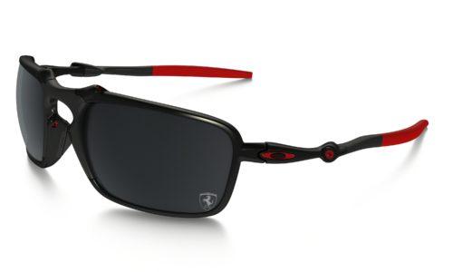 kính Oakley Badman Scuderia Ferrari Polarized gọng đen đỏ